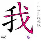 中国語:「我」について