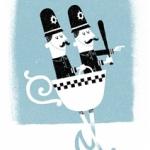 中国語:我去警察