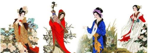 中国古代の四大美女   中国語初...