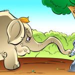 中国のお話し:大象和老鼠